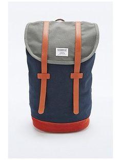 Sandqvist Stig Backpack in Multi Blue http://sellektor.com/plecaki/strona-11?order=newest