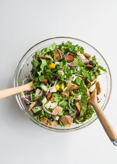 ... and fattoush, come together in this refreshing (and easy!) recipe