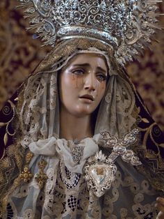 María Santísima de la Victoria, Francisco Romero Zafra (2008). Prayer: Those Five Wounds on Jesus smitten,  Mother! in my heart be written,  Deep as in your own they be. http://www.catholicculture.org/culture/liturgicalyear/prayers/view.cfm?id=774