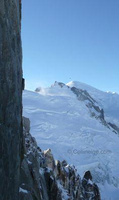 Mont-Blanc, highest mountain in Europe | 4810m | Chamonix, France | © Collineige.com
