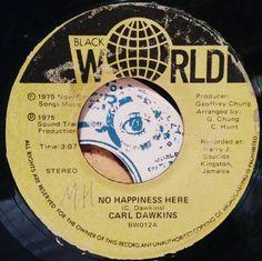 No happiness here.  #reggae #jamaica #45rpm #dub #reggaelabelart #carldawkins #blackworld #blackworldrecords #clivehunt #geoffreychung #soundtrackmusic #harryjstudio #rootsmusic #rootsreggae #madeinjamaica #kingston #reggaefever by albwizz
