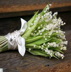 Springtime wedding?  Nothing sweeter than a bouquet of Lily of the Valley flowers ...  PERFECT!  (and smell so SWEET ... and grow in the gardens at Historic Deepwood Estate!)