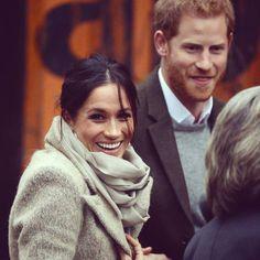 2018 - Prince Harry and fiancé Meghan Markle