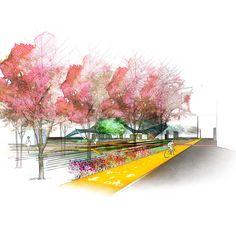 THE PALIMPSEST (landscape architecture design) on Behance