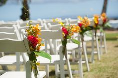 Aisle Marker Decor Ideas, Wedding Ceremony Photos by Genesa Richards Photography