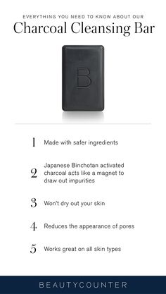 If the idea of cleansing your face with charcoal sounds a little counterintuitive, we're here to clear up (pun intended) any doubts. Read on for 5 reasons this charcoal soap is the essential you never knew you needed… until now.