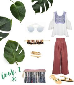 How to wear the off the shoulder top