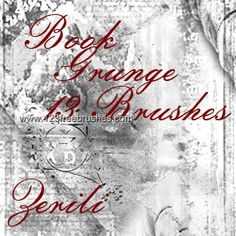 Book Grunge - Download  Photoshop brush http://www.123freebrushes.com/book-grunge/ , Published in #GrungeSplatter. More Free Grunge & Splatter Brushes, http://www.123freebrushes.com/free-brushes/grunge-splatter/ | #123freebrushes