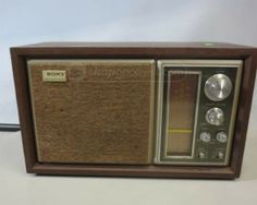 SONY FM/AM 2 Band Radio