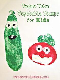 Veggie Tales Vegetable Stamps