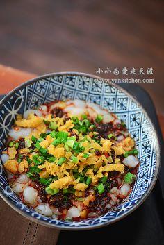Mung Bean Starch Noodle Fishes — Yankitchen
