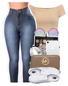 ... by xomadibbyyy on Polyvore featuring polyvore fashion style Alice + Olivia Vans MICHAEL Michael Kors Nadri Sunday Somewhere Anastasia Beverly Hills clothing
