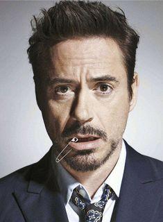 Robert Downey Jr. fotografiado por Nigel Parry, 2012