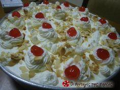 Εκμέκ τέλειο omg, translate please! This is the best dessert… Greek Sweets, Greek Desserts, Summer Desserts, Greek Recipes, Fun Desserts, Cookbook Recipes, Sweets Recipes, Cooking Recipes, Food Network Recipes