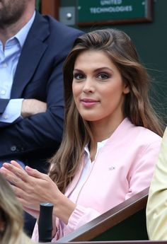 Iris Mittenaere (Miss France 2016) - People dans les tribunes des internationaux de France de Tennis