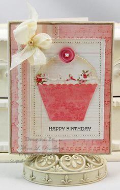 Cupcake Happy Birthday! Cute!