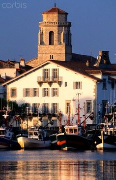 Saint Jean de Luz ~ France #BasqueCountry My favorite area in French Basque Country. Absolutely Beautiful!