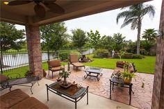 Extended patio option, good idea!