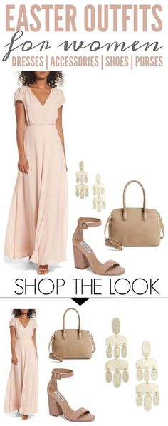 Easter Outfits for Women | Dresses, Shoes, Purses, & Accessories! Styles and Trends for Spring and Summer including Wedding Showers, Baby Showers and Weddings! #easter #summerfashion #springstyle