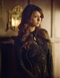 "Katherine's Bebe Sleeveless Lace Blouse on The Vampire Diaries Season 5, Episode 15 ""Gone Girl"" - Spotted on TV"