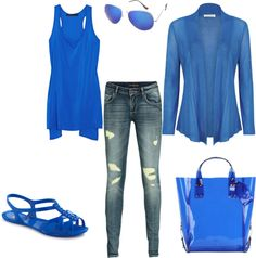 Breezy Blue, created by miss-mimz on Polyvore