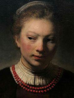 Rembrandt Portrait, Renaissance Art, Figure Painting, Drawing Reference, Painters, Art History, Sea Shells, Illustrators, Art Drawings