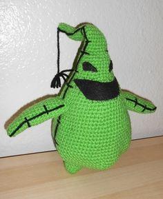 Oogie Boogie free crochet pattern
