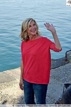 Michèle Laroque, présidente du jury - Festival de la fiction TV de La Rochelle