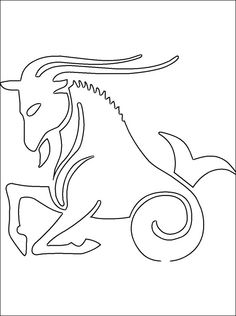 aries coloring page coloring pages