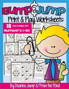 Bump & Jump Numbers and Update on Nonfiction Interactive Journal and a (FREEBIE) by Deanna Jump and From the Pond