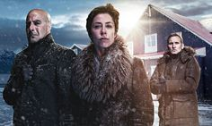 Fortitude - With its murder plotline, accents and cold climate, new Arctic Circle chiller might recall Scandi shows like The Killing. But its iceberg-thick plot goes far deeper... (Yes, that IS Christopher Eccelston!!!)