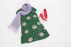 Pin for Later: Make These 12 Disney Costumes With What's in Your Closet Disgust, Inside Out Inside Out's Disgust rocks a green floral dress, a pink or purple scarf, and pink shoes.