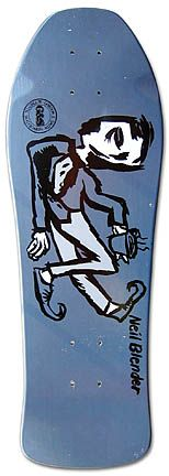 Model: Neil Blender (Mini)    Artist: Neil Blender    Company: G Skateboards    Release Date: 1987