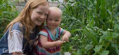 How to encourage Children to enjoy being in the garden