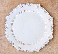 Underplate Antiqued Milk Kitchenware, Tableware, Decorative Plates, Milk, Antiques, Brown, Home Decor, Antiquities, Dinnerware
