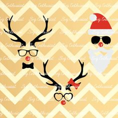 Fun Christmas SVG Christmas clipart Svg Xmas Svg by SVGEnthusiast