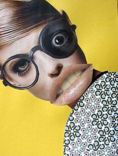 portrait collage by Laura Wennstrom