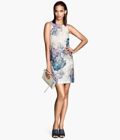 Floral lilac dress