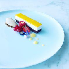 Chef Mustafa Yankavi chocolate, lemon,orange and caramel