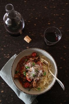 rask spaghetti bolognese