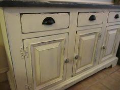 Annie Sloan Chalk Paint kitchen Cabinets - okay I ...