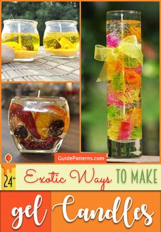 24+ Exotic Ways to Make Gel Candles – Guide Patterns
