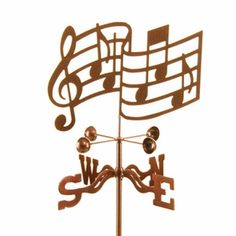 music weathervane-too cute! Didn't even know these existed :)