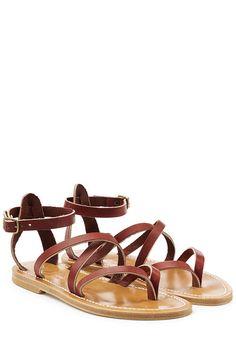 K.JACQUES Leather Sandals. #k.jacques #shoes #sandals