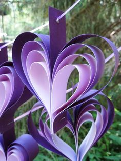 Purple Wedding Shower Decorations Ideas
