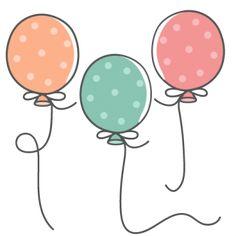 Polka Dot Balloons scrapbook cuts SVG cutting files doodle cut files for scrapbooking clip art clipart doodle cut files for cricut free svg cuts