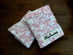 Pink Floral Carseat Strap Covers