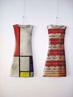 The fate of Mondrian and Warhol dresses