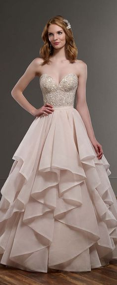 Martina Liana Spring 2016 Wedding Dress Need more great ideas to plan your wedding? www.destinationweddingcollective.com