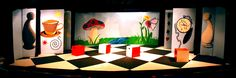 alice in wonderland set design ideas | ALICE IN WONDERLAND for Brundage Park Playhouse